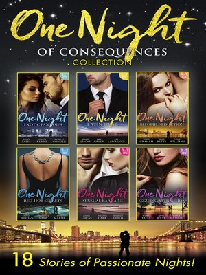 cover image of One Night of Consequences Collection
